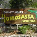 Homosassa sign