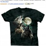 "Famous ""Three Wolf Shirt"""