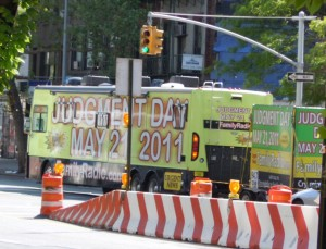 Judgment Day Caravan tries to drive-by convert Bowery heathens