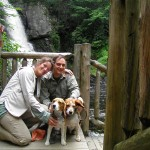 Bushkill Falls: the Niagara of PA loves dogs