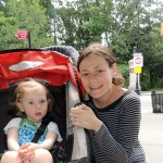 Maeve and Meghan Fitzgerald love Prospect Park
