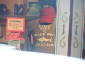 Chatham, MA, is proud of its sharks